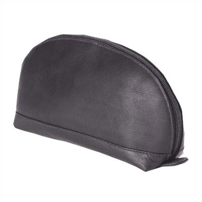 Clava Leather Vachetta Accessory Clutch in Black