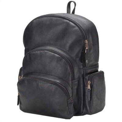 Clava Leather Vachetta Multi-Pocket Backpack