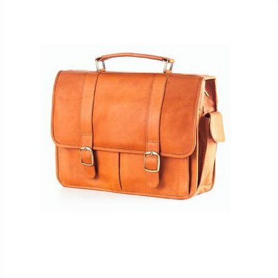 Vachetta Laptop Briefcase in Tan