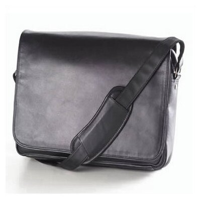 Quinley Leather Messenger Bag
