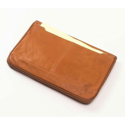 Clava Leather Tuscan Document Portfolio  in Tan