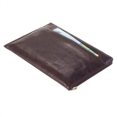 Clava Leather Tuscan Under the Arm Folder Holder in Café