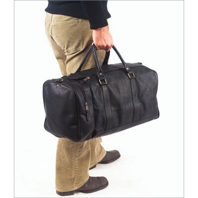 "Clava Leather Vachetta 20"" Leather Travel Duffel"