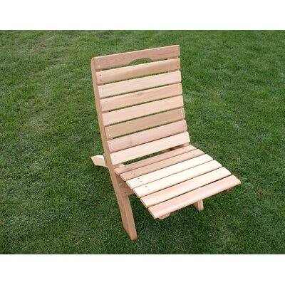 Cedar Furniture and Accessories Traveling Style Folding Beach Chair