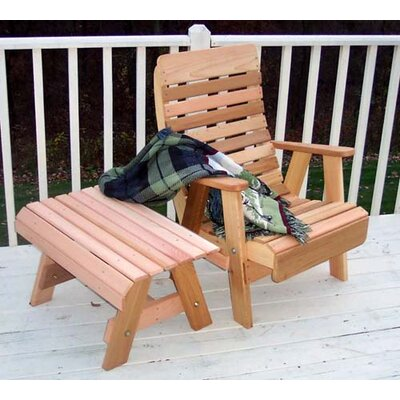 Cedar Twin Ponds Chair and Table Set