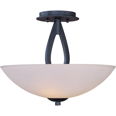 Taniya Nayak Rain Drop 3 Light Semi Flush Mount
