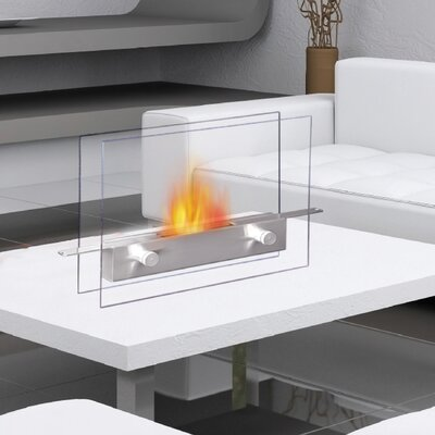 Anywhere Fireplaces Metropolitan Tabletop Bio Ethanol Fireplace