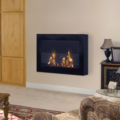 Bioethanol Fireplace Fuel Style Anywhere Fireplaces SoHo Wall Mounted Bio Ethanol Fireplace Reviews