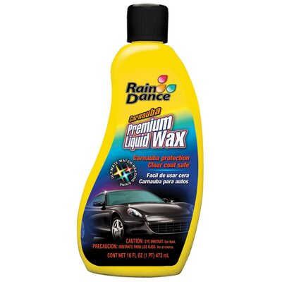Rain Dance 16oz. Carnauba Premium Liquid Car Wax