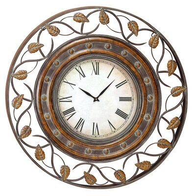 "<strong>UMA Enterprises</strong> Toscana Oversized 37.8"" Wall Clock"