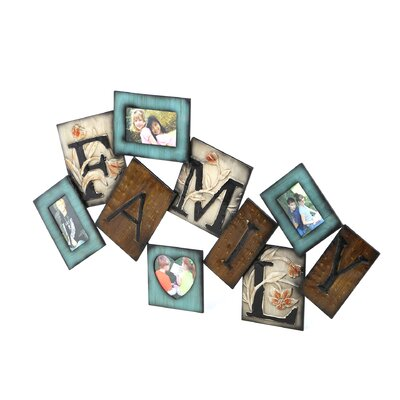 UMA Enterprises Rustic Metal Wall Picture Frame