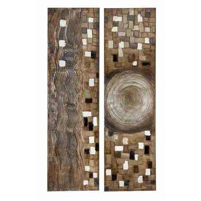 UMA Enterprises Toscana First Sight Canvas Painting (Set of 2)