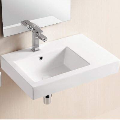 Ceramica II Wall Mounted Bathroom Sink - Caracalla CA441A