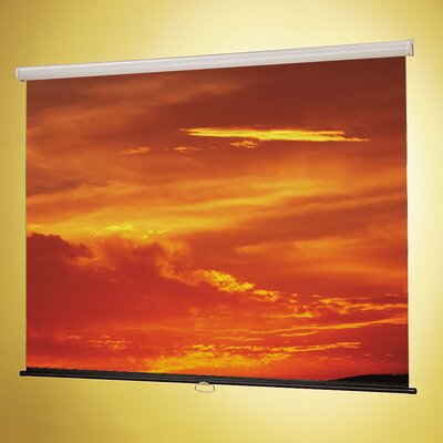 Claridge Products Nova Fiberglass Matte White Manual Projection Screen