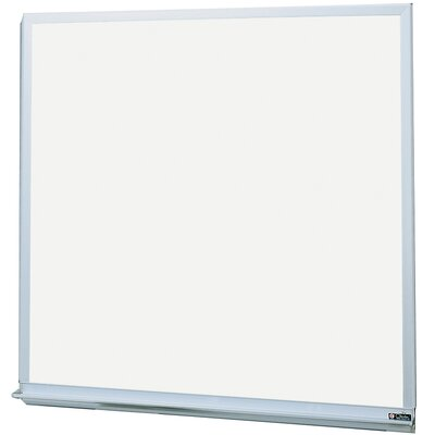 Claridge Products MLC Deluxe Markerboard with Aluminum Trim 4'H x 6'W