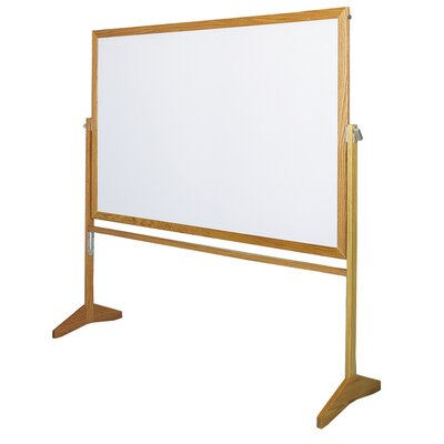 Claridge Products Premiere Wood Frame Reversible MLC Markerboard