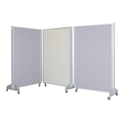 Claridge Products Premiere Portable SAS Panelling System  with Markerboard Side/Fabricork Side