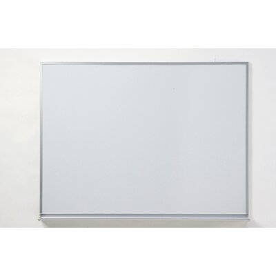 Claridge Products Special Low Gloss LCS Deluxe Wallboard with Aluminum Trim 4' x 10'