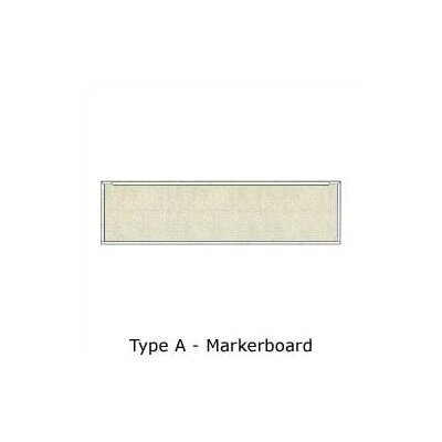 Claridge Products Series 800 Type A Markerboard 4'H x 16'W