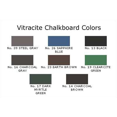 Claridge Products No. 210 Vitracite Chalkboard