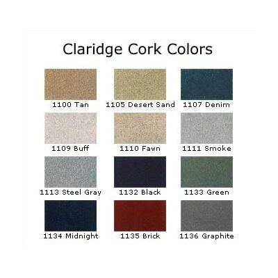 Claridge Products No. 114 Cork Bulletin Board