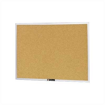 "Claridge Products Style 1' 6"" x 2' Bulletin Board"