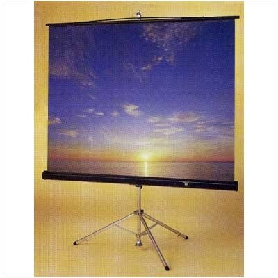 Claridge Products Perfecta Tripod Projection Screen