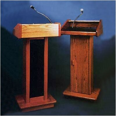 Claridge Products No. 318 Column Sound Lectern