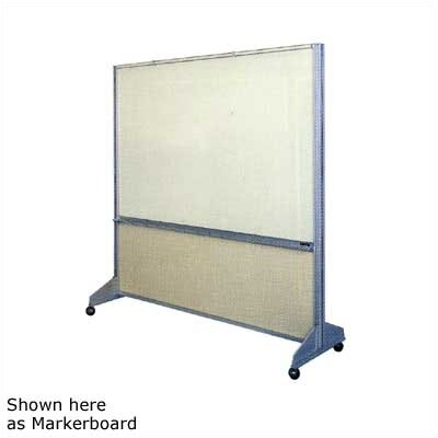 Claridge Products Premiere Room Divider with Fabricork on Both Sides