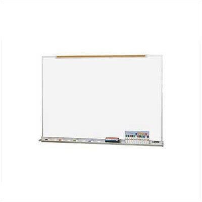 Claridge Products LCS Deluxe Wallboard with Aluminum Trim 4'H x 16'W