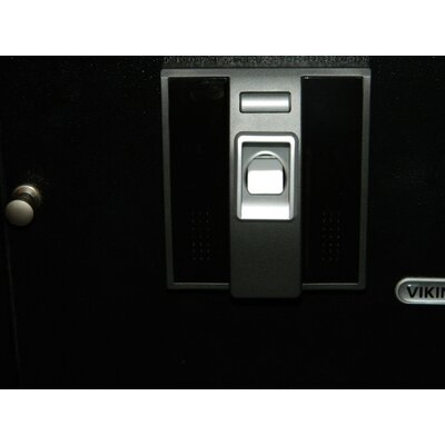 Viking Security Biometric Safe in Black