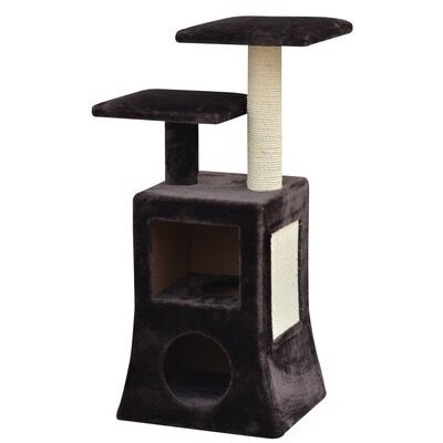 "PetPals 40"" Abstract Design Multi Platformcat Cat Tree"