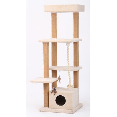 "PetPals 67"" Cat Tree"