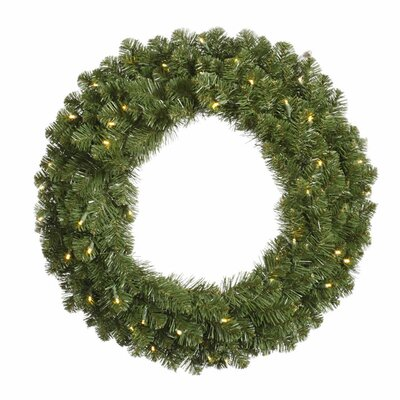 Vickerman Co. Grand Teton Wreath with 100 Dura-Lit Lights
