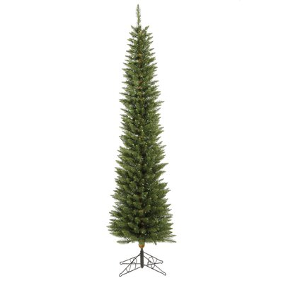 Vickerman Co. Durham Pole Pine 8.5' Green Artificial Christmas Tree with Stand
