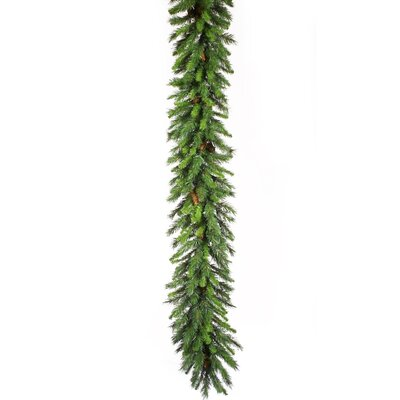 "Vickerman Co. Cheyenne Pine 600"" Cheyenne Garland with 1600 Tips"