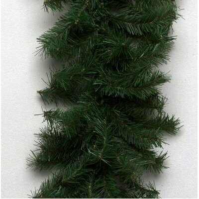 "Vickerman Co. Canadian Pine 600"" Garland with Clear Lights"