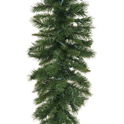 "Vickerman Co. Imperial Pine 14"" Garland with Clear Lights"