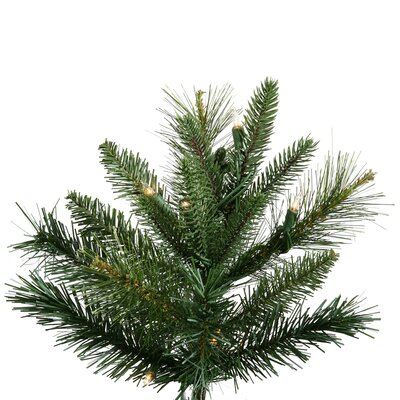 Vickerman Co. Butte Mixed Pine 9' Artificial Christmas Tree with Clear Lights