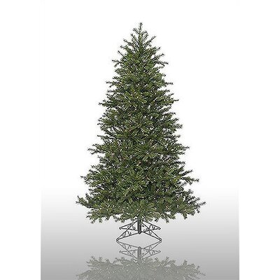 Vickerman Redwood 7.5' Green Artificial Christmas Tree with 600 Pre-Lit Multicolored Lights ...