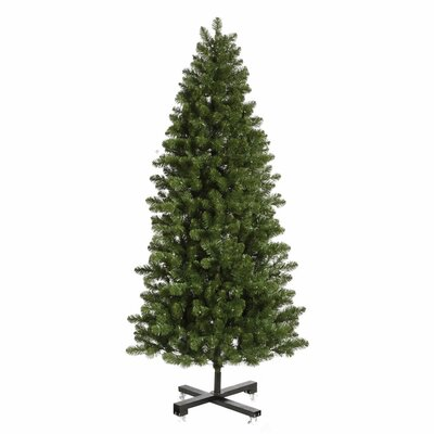 Vickerman Co. Grand Teton 7.5' Green Slim Artificial Christmas Tree