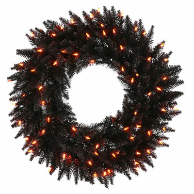 Vickerman Co. Fir Wreath with 210 Lights