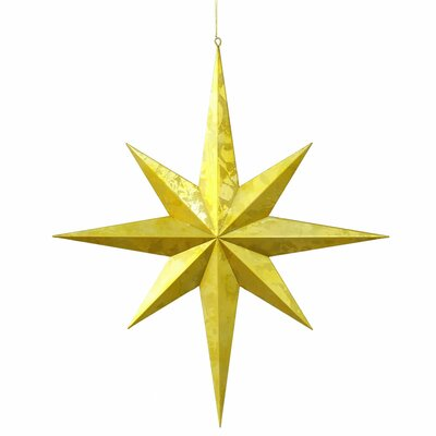 Vickerman Co. Candy Finish 8 Point Star UV Ornament
