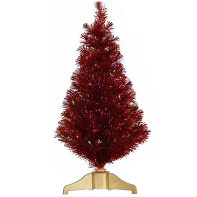 Vickerman Co. 3' Red Artificial Christmas Tree