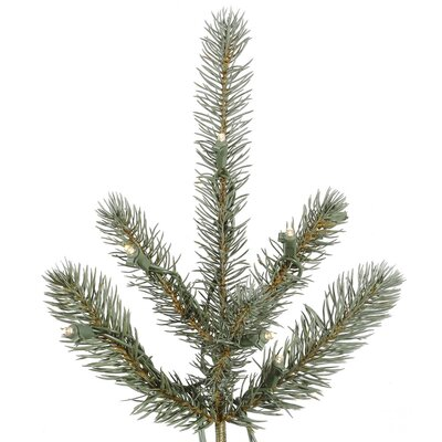 Vickerman Co. Colorado 6.5' Blue Spruce Artificial Christmas Tree with 480 LED White Lights with Stand