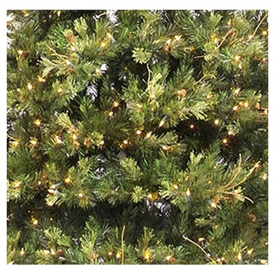 Vickerman Co. Prelit Country Pine Wreath with Clear Lights