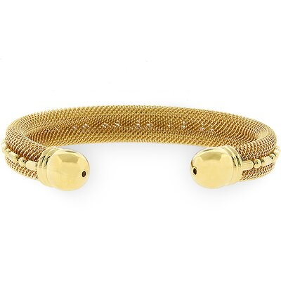 Kate Bissett Gold-Tone Cable Fashion Bracelet