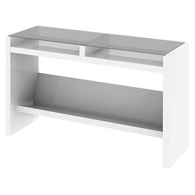 "kathy ireland Office by Bush New York Skyline 50.55"" W x 15.35"" D Laptop Sofa Table"