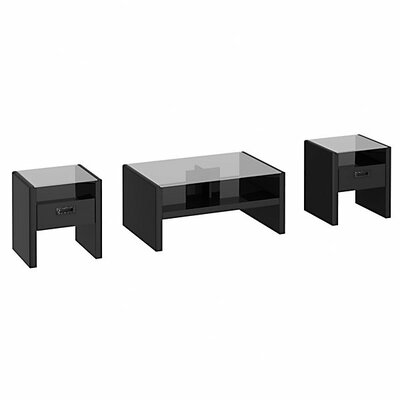 kathy ireland by Bush New York Skyline 3 Piece Coffee Table Set
