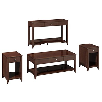 kathy ireland Office by Bush Americana 4 Piece Coffee Table Set